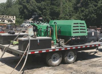 mobile-sandblasting-orlando florida-green-sandblasting-truck